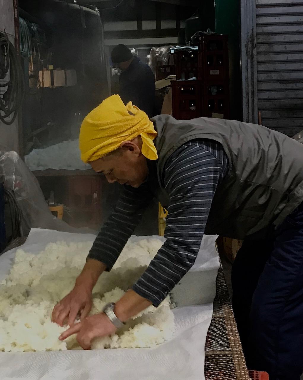 初陣 蒸米