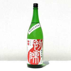 初陣純米吟醸酒1.8l
