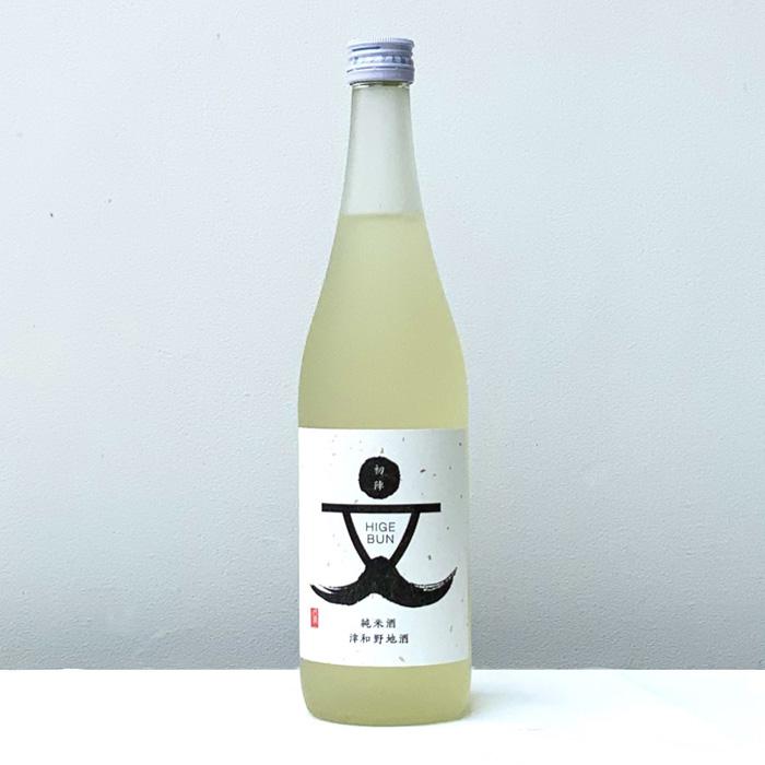 初陣・山廃純米酒『ひげ文』720ml