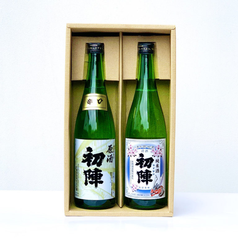 初陣・純米酒と辛口原酒セット