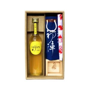 初陣・柚子酒と雑貨のセット