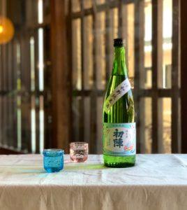 初陣純米酒720ml
