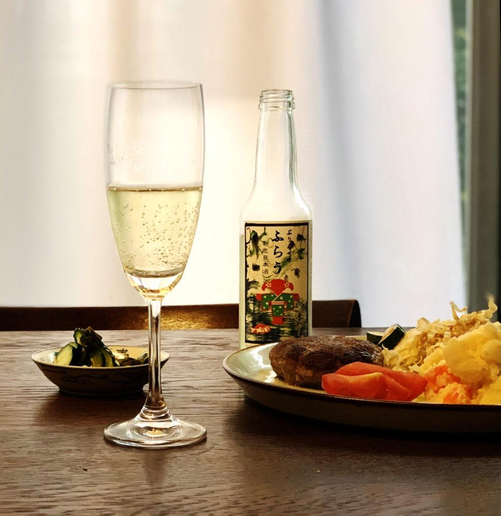 発泡日本酒「プリンセス・フラウ」