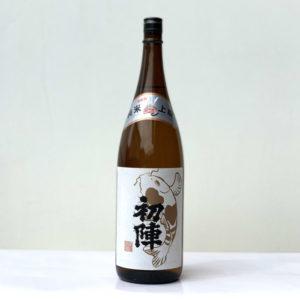 初陣 純米上撰酒1.8l