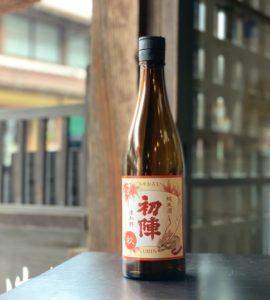 初陣 秋純米(純米酒ひやおろし)720ml